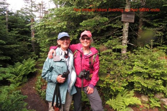 Susan and Micki MBW Mt Equinox